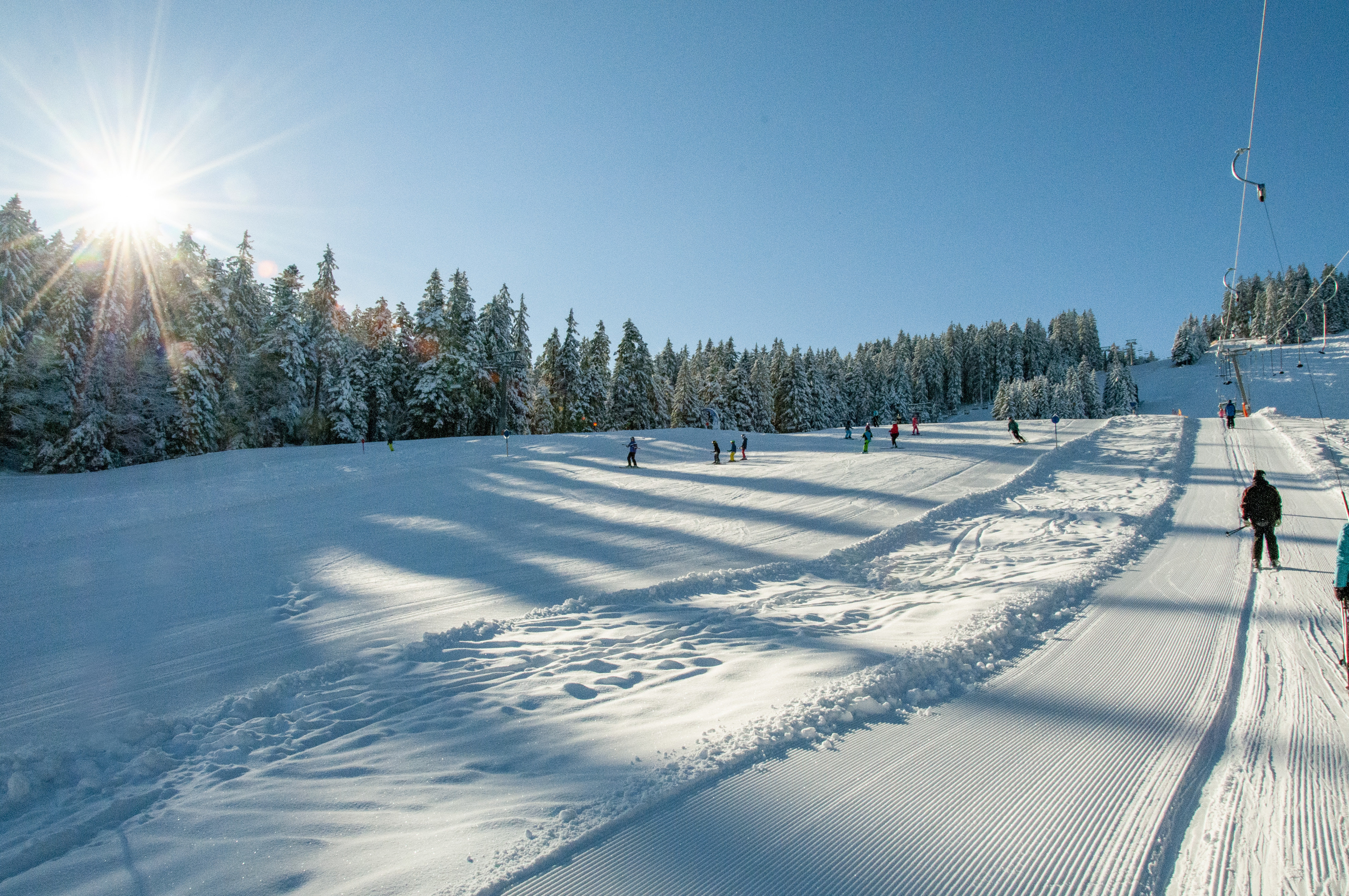 Skigebiet Bödele, Schanzenblicklift / Copyright©Jürgen Kostelac, Dornbirner Seilbahn AG