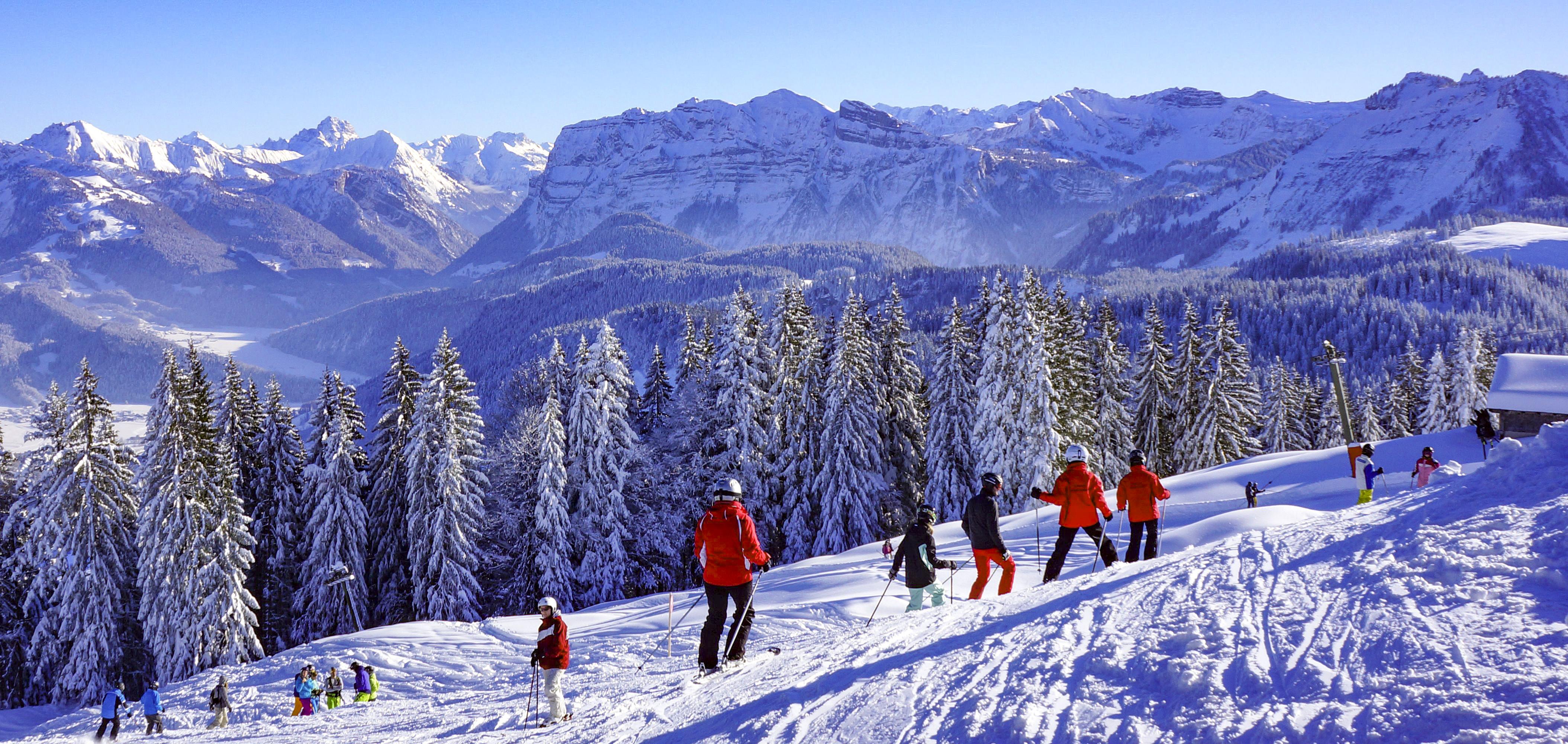 Skigebiet Bödele, Alpenblick Bergstation / Copyright© Alois Metzler