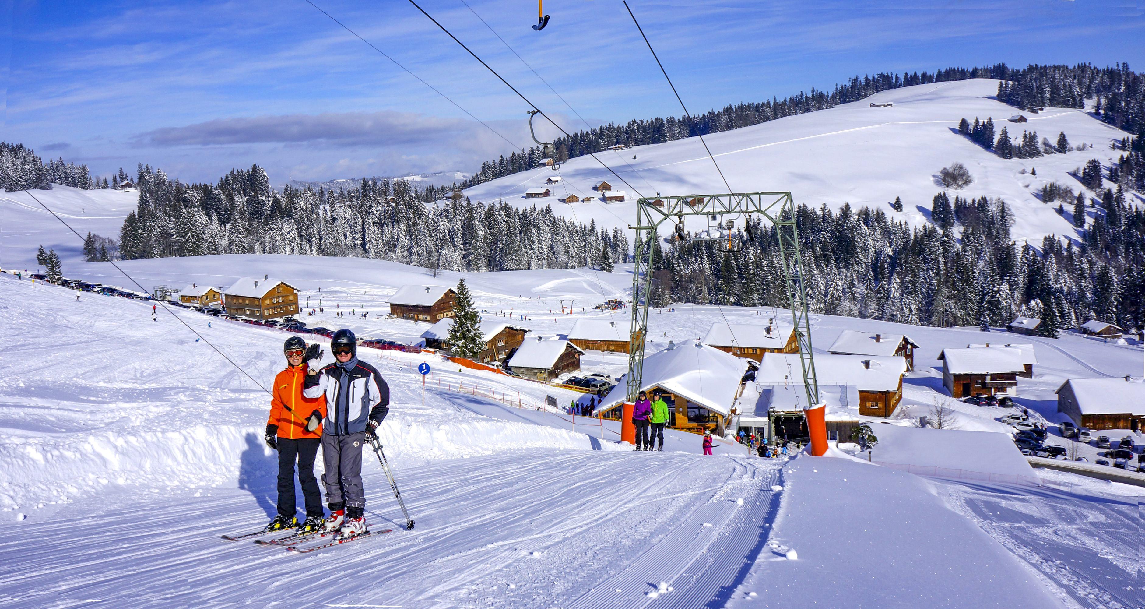 Skigebiet Bödele, Hochälpelelift / Copyright© Alois Metzler