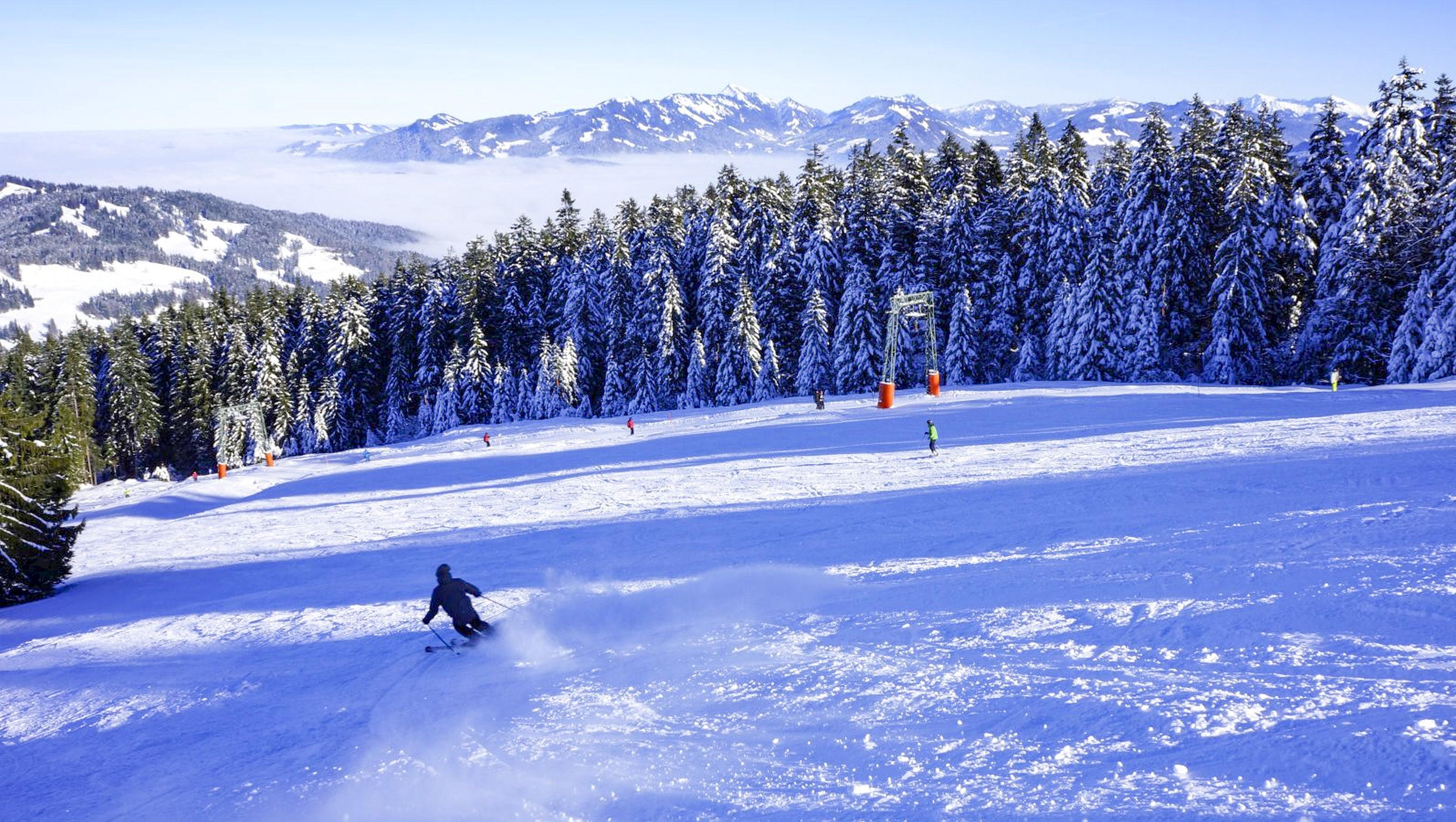 Skigebiet Bödele, Hochälpele, Bergstation Seeblick / Copyright© Alois Metzler
