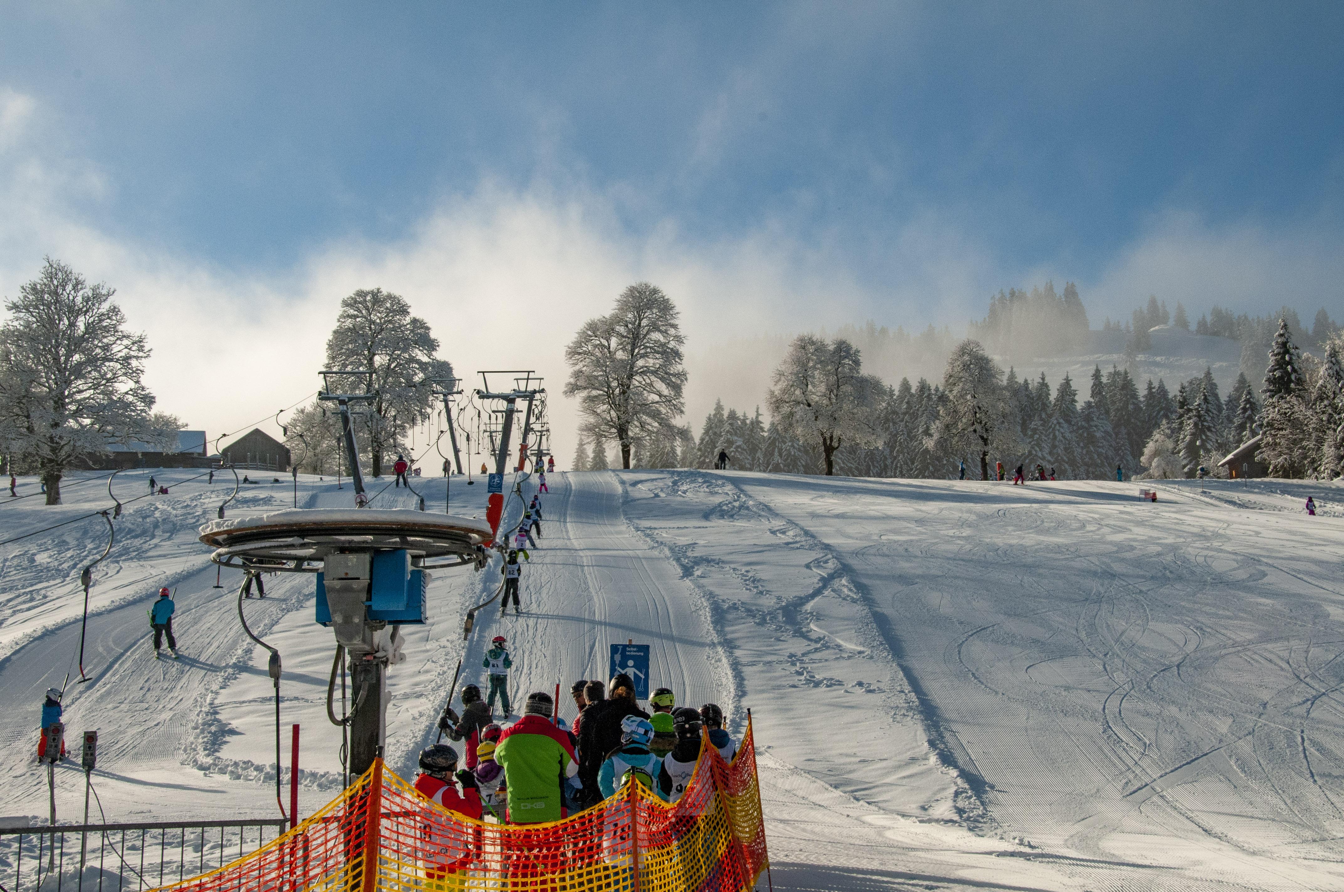 Skigebiet Bödele, Oberlosen Tal / Copyright© Jürgen Kostelac, Tarifgemeinschaft Bödele